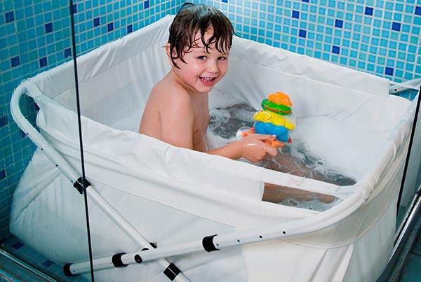 Bañera para plato de ducha Bibabaño